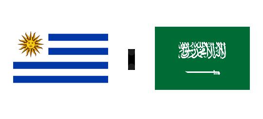 Wett-Tipp Uruguay gegen Saudi-Arabien