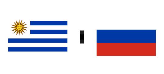 Wett-Tipp Uruguay gegen Russland