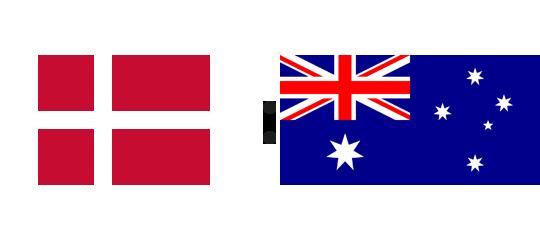 Wett-Tipp Dänemark gegen Australien