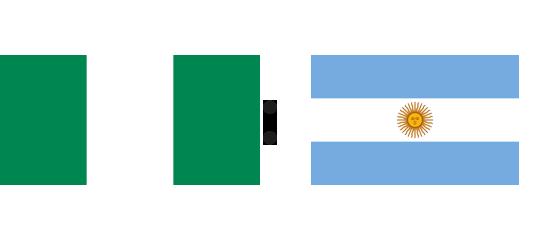 Wett-Tipp Nigeria gegen Argentinien