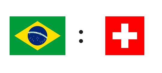 Wett-Tipp Brasilien gegen Schweiz