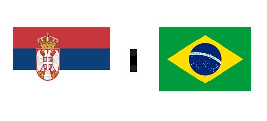Wett-Tipp Serbien gegen Brasilien