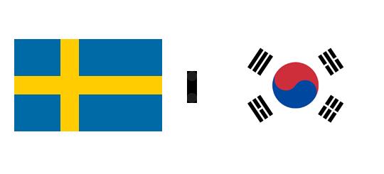 Wett-Tipp Schweden gegen Südkorea