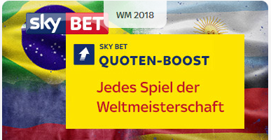 Sky Bet Quotenboosts für den 27.6. mit Mega-Quoten