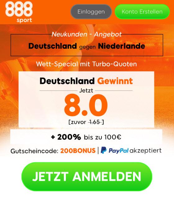 TOP-Quote: 8.0 für DFB-Sieg gegen Niederlande