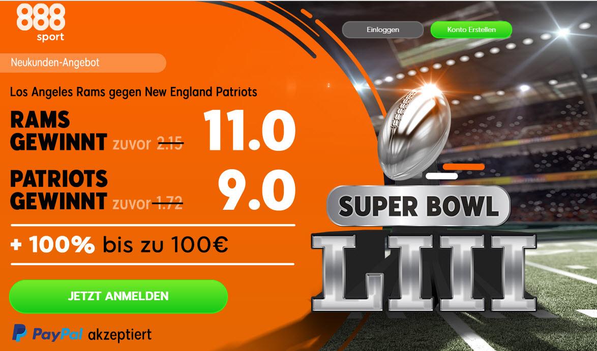 Superboost für den Super Bowl