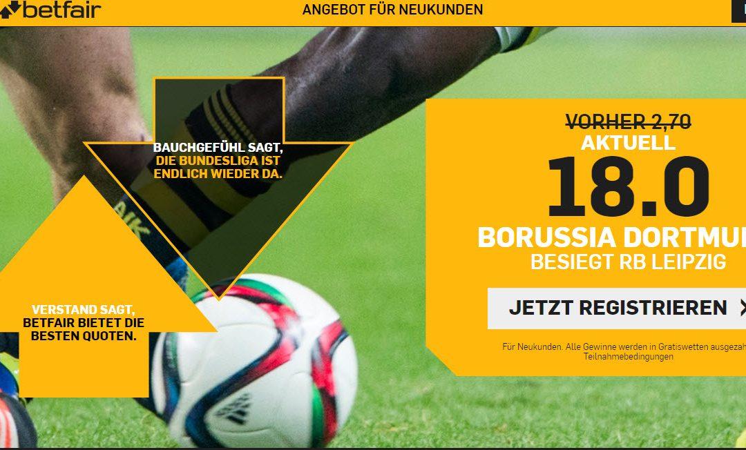 Tolle Quotenbooster für Bayern und Dortmund