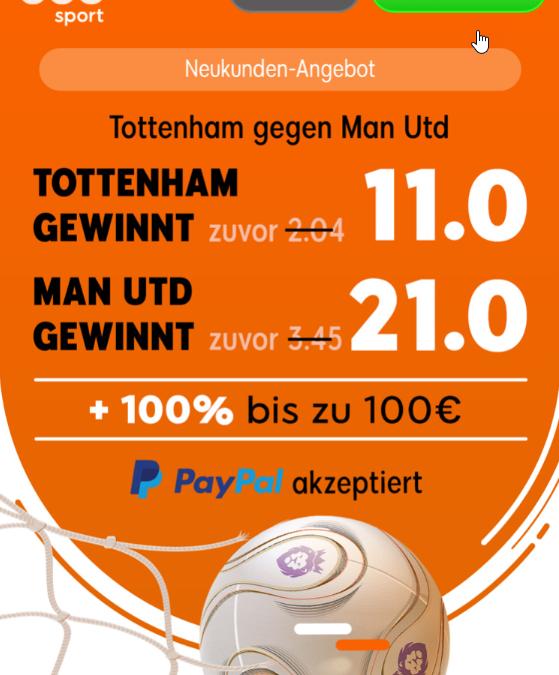 100 Euro gewinnen – wenn Manchesters Serie hält!