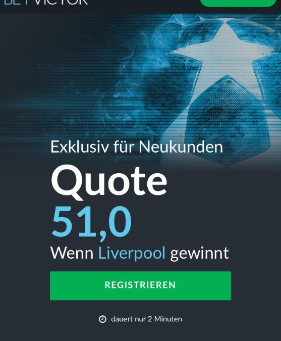 Mega-Quote: 51.0 für Liverpool-Sieg gegen Bayern
