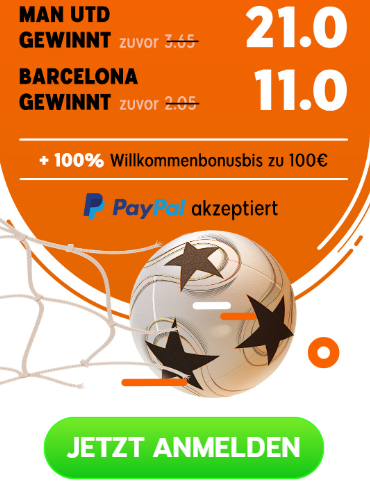 Riesenquoten für Barcelona und ManCity – Quotenbooster von 888