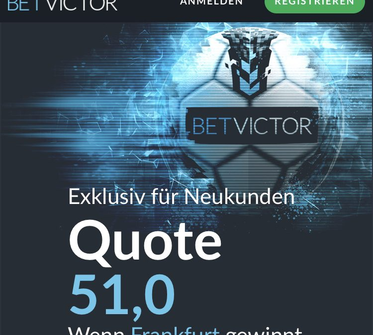 Mega-Quote: 51.0 – wenn Frankfurt gegen Augsburg gewinnt
