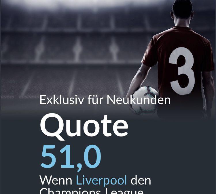 Mega-Quoten für das Finale der Champions League