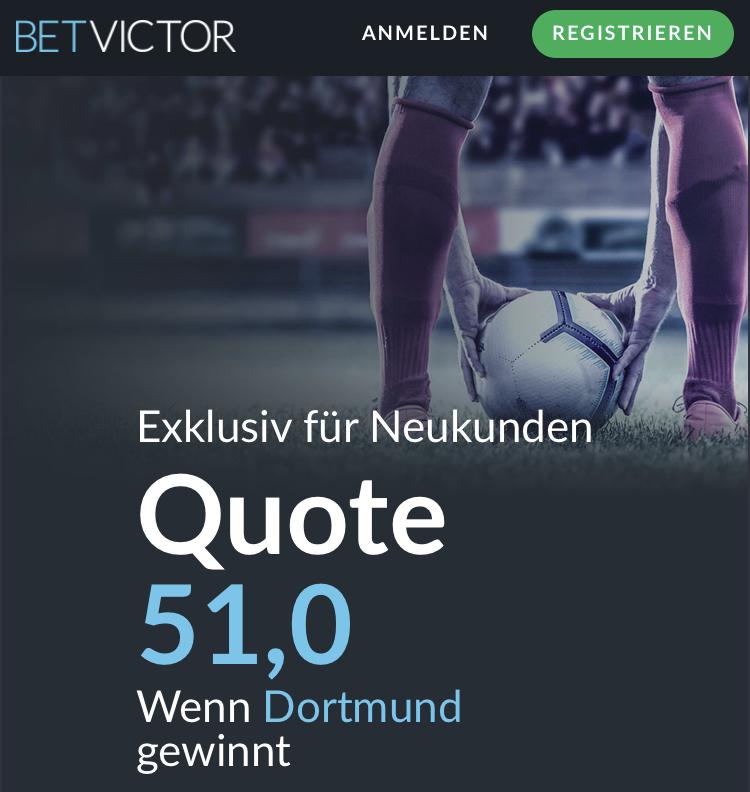 Mega-Quoten: 51.0 für Siege von Bayern und Dortmund