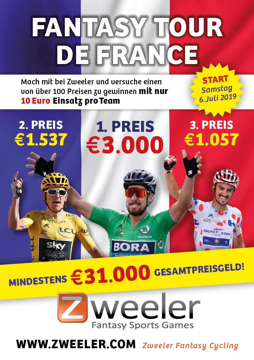 Verdient mit Zweeler Geld bei der Tour de France