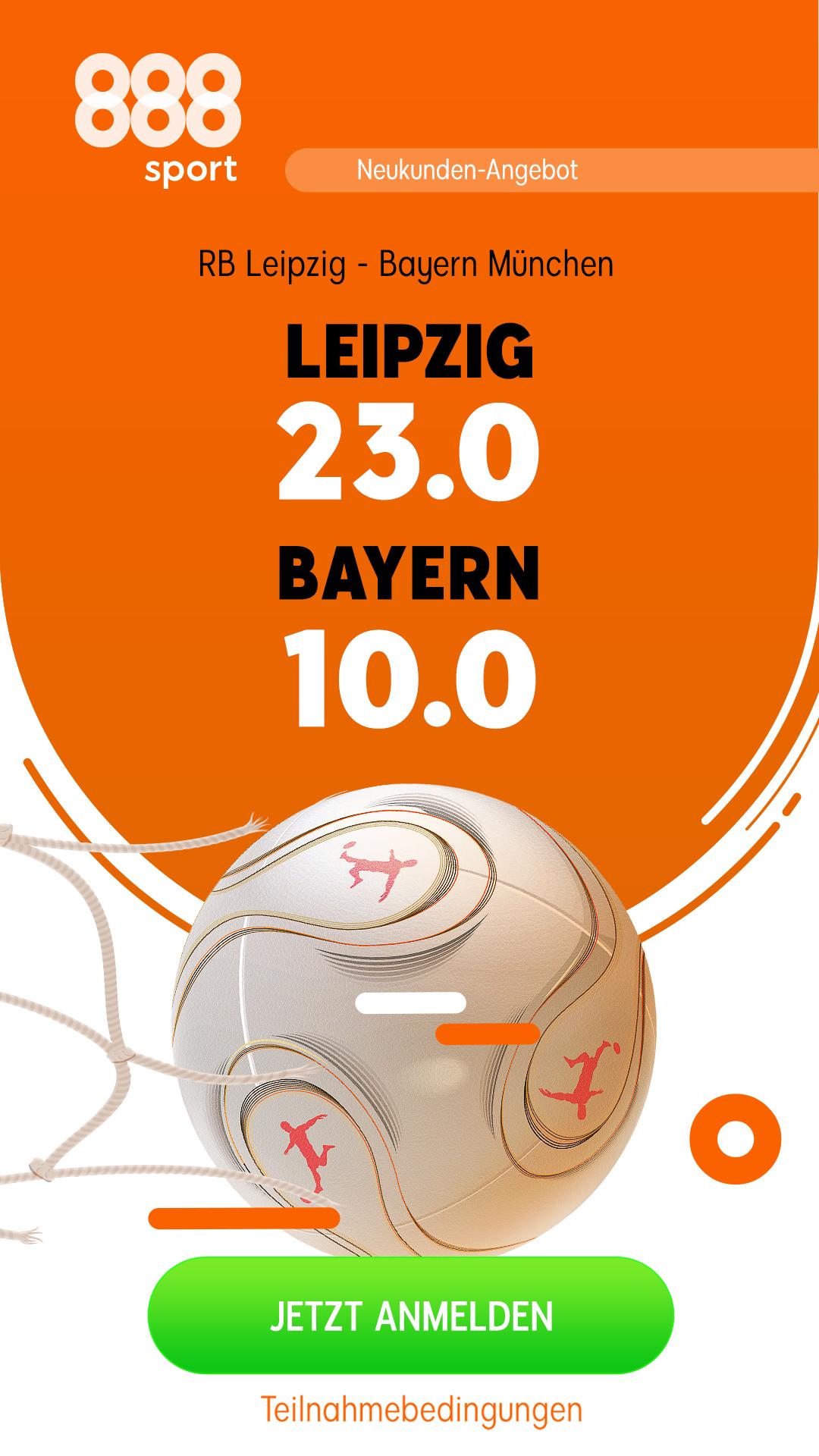 Mega-Quote: 10.0 für einen Bayern-Sieg in Leipzig