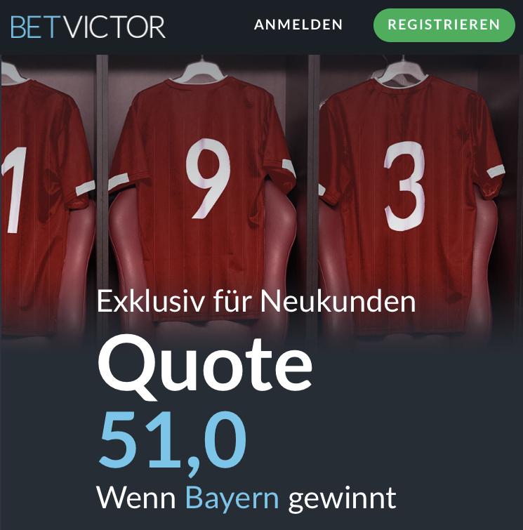 51.0 – wenn Bayern Tottenham schlägt