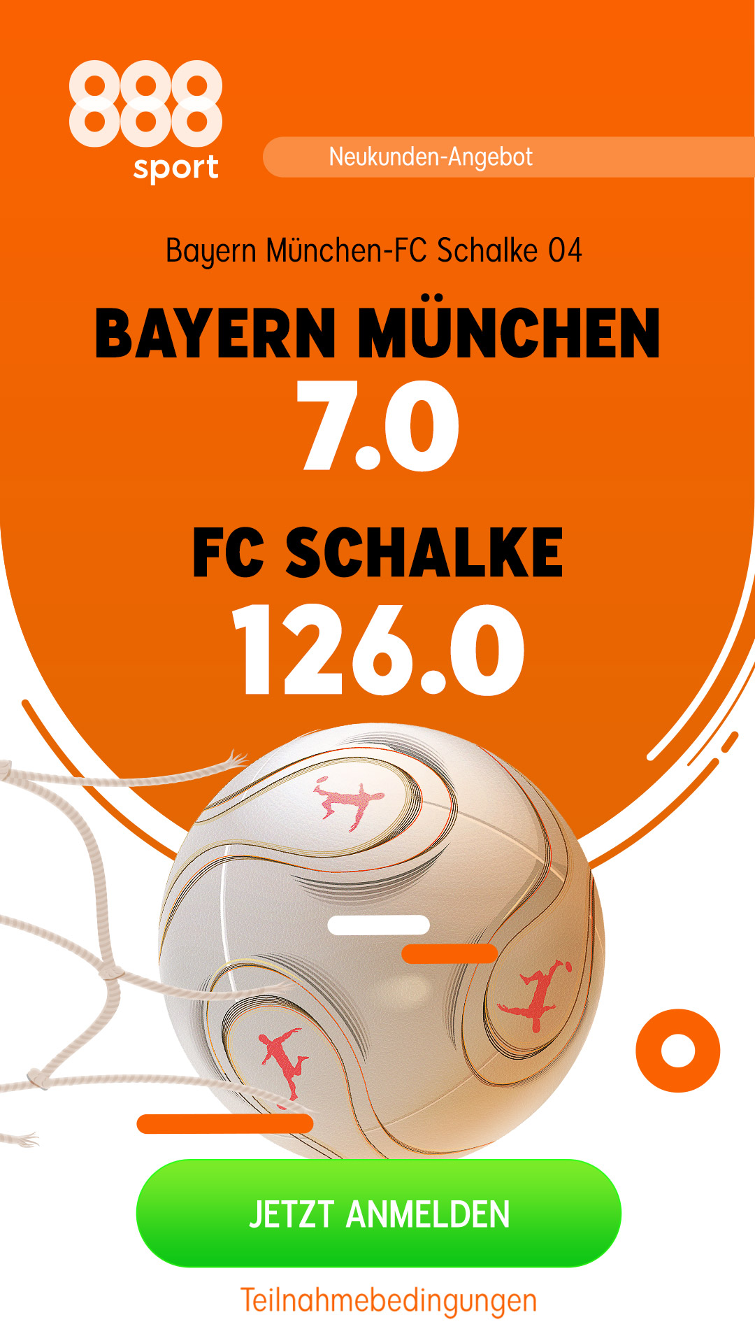 Mega-Quote 126 für Schalke-Sieg