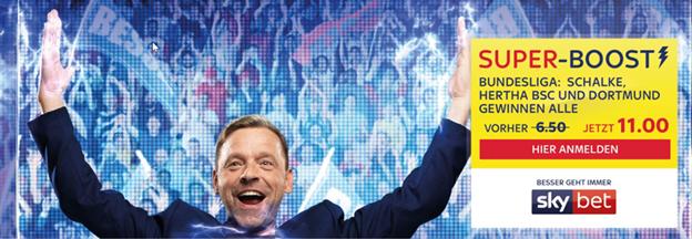 Super-Boost für Siege von Dortmund, Schalke und Hertha