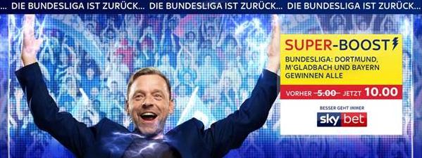 200-Euro-Gratiswette und Super-Boost