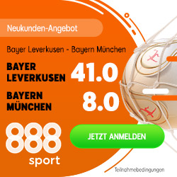 Mega-Quote 41.0 für einen Bayer-Sieg gegen Bayern