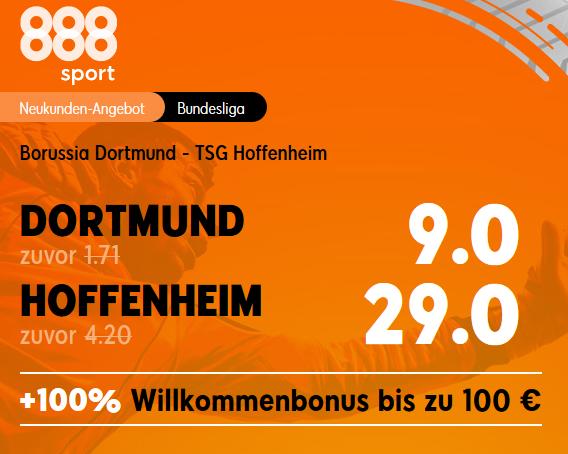 Top-Quote 9.0 für BVB-Sieg gegen Hoffenheim