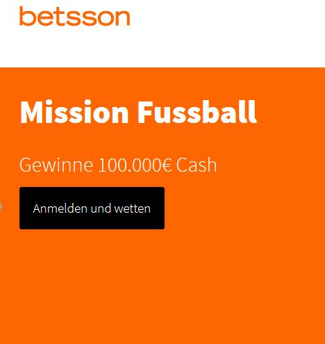 Betsson startet die Mission Fussball
