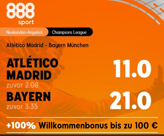 Top CL-Quoten für Bayern und Gladbach!