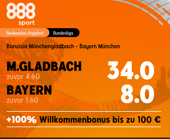 Drei spannende Bundesliga-Duelle mit Top-Quoten
