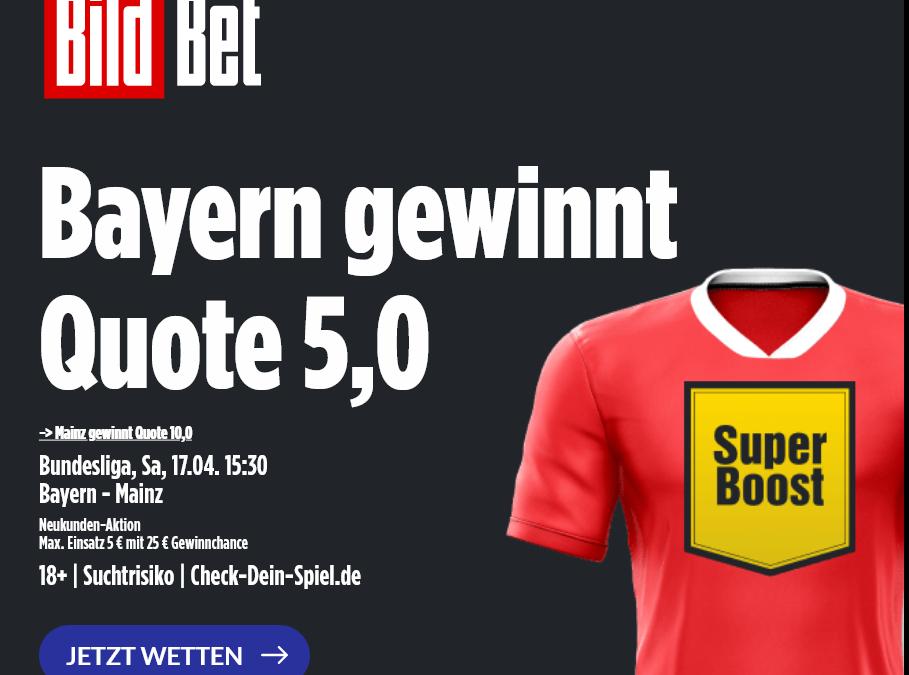 Erster Matchball für die Bayern