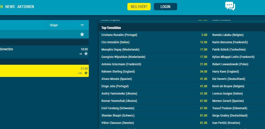 Bundesliga und Serie A machen den Unterschied bei den EM-Toren aus